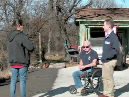 Veteran, Wheelchair, Driveway