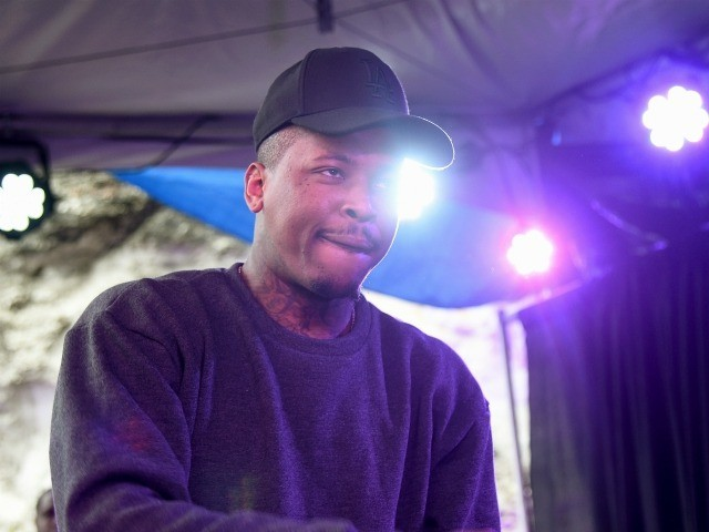 AUSTIN, TX - MARCH 21: YG performs at the Axe/Spin House during the 2015 SXSW Music, Fim + Interactive Festival at Cheer Up Charlie's on March 21, 2015 in Austin, Texas. (Photo by Michael Buckner/Getty Images for SXSW)