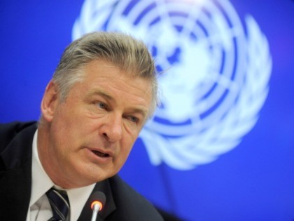 Photo by: Dennis Van Tine/STAR MAX/IPx 9/21/15 Actor and activist Alec Baldwin and wife Hilaria Thomas, addresses a press briefing to announce the winners of the 2015 Equator Prize, which will be awarded to 20 outstanding local and indigenous community initiatives that are advancing innovative solutions for people, nature and …