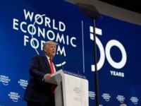 Donald Trump Cuts Down Globalism, Celebrates Economic Nationalism at Davos