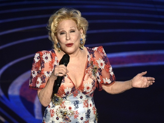 "Bette Midler performs ""The Place Where Lost Things Go"" from the film ""Mary Poppins Returns"" at the Oscars on Sunday, Feb. 24, 2019, at the Dolby Theatre in Los Angeles. (Photo by Chris Pizzello/Invision/AP)"