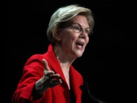 SAN FRANCISCO, CALIFORNIA - JUNE 01: Democratic presidental hopeful U.S. Sen. Elizabeth Warren (D-MA) speaks during the California Democrats 2019 State Convention at the Moscone Center on June 01, 2019 in San Francisco, California. Several democratic presidential hopefuls are speaking at the California Democratic Convention that runs through Sunday. (Photo …