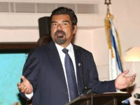 "LOS ANGELES, CA - NOVEMBER 22: Actor George Lopez attends the ""Fiesta Shalom"" Event at Tamayo Restaurant on November 22, 2015 in Los Angeles, California. (Photo by Jesse Grant/Getty Images for Consulate General of Israel)"