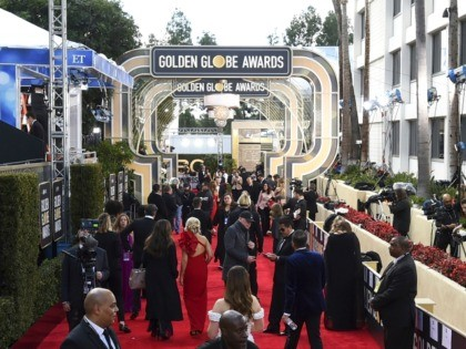 FILE - This Jan. 6, 2019 file photo shows members of the media on the red carpet prior to the 76th annual Golden Globe Awards in Beverly Hills, Calif. The Hollywood Foreign Press Association (HFPA), dick clark productions (dcp) and NBC will present the 77th Annual Golden Globe Awards on …