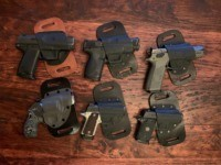 The CrossBreed Holsters SnapSlide outside the waistband (OWB) holster is a leather-backed, Kydex holster that provides remarkable comfort for all-day carry.