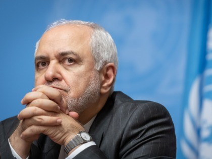 Iranian Foreign Minister Mohammad Javad Zarif looks on as he attends a press conference on a meeting of the Syria constitution-writing committee on October 29, 2019 at the United Nations Offices in Geneva. (Photo by FABRICE COFFRINI / AFP) (Photo by FABRICE COFFRINI/AFP via Getty Images)