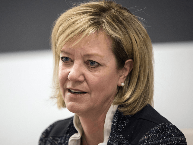 "The ad prompted voters to call Jeanne Ives (pictured) to tell her that ""her conservative policies are just too conservative for Illinois."" 
