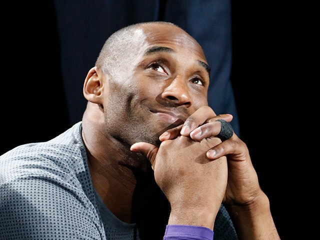 SAN ANTONIO,TX - FEBRUARY 6: Kobe Bryant #24 of the Los Angeles Lakers watches tribute at AT&T Center on February 6, 2016 in San Antonio, Texas. NOTE TO USER: User expressly acknowledges and agrees that , by downloading and or using this photograph, User is consenting to the terms and …