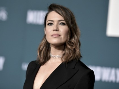 "Mandy Moore attends the world premiere of ""Midway,"" at the Regency Village Theatre, Tuesday, Nov. 5, 2019, in Los Angeles. (Photo by Richard Shotwell/Invision/AP)"