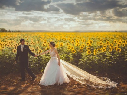 husband bride