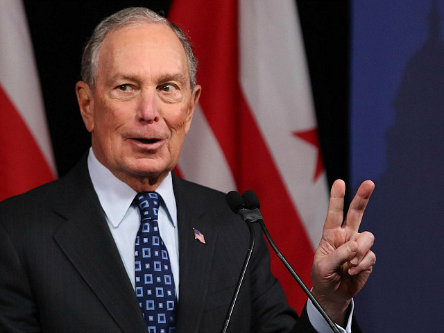 WASHINGTON, DC - JANUARY 30: Democratic presidential candidate, former New York City Mayor Michael Bloomberg speaks about affordable housing during a campaign event where he received an endorsement from District of Columbia Mayor, Muriel Bowser, on January 30, 2020 in Washington, DC. The first-in-the-nation Iowa caucuses will be held February …