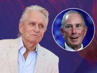 Michael Douglas Backs Bloomberg: 'One of the Greatest Candidates'
