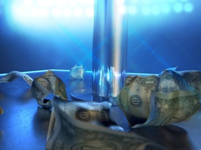 money in strip club