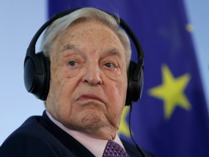 In this Thursday, June 8, 2017 file photo, Hungarian-American investor and CEU founder George Soros attends a press conference at the Foreign Ministry in Berlin, Germany. Central European University says it will move its U.S.-accredited programs from Hungary's capital of Budapest to the Austrian capital of Vienna because of uncertainty …