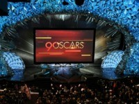 A general view shows the stage during the 90th Annual Academy Awards show on March 4, 2018 in Hollywood, California. / AFP PHOTO / Mark RALSTON (Photo credit should read MARK RALSTON/AFP via Getty Images)