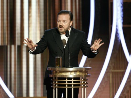 Breitbart: Golden Globes Host Ricky Gervais: Holly