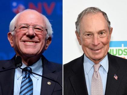 Bernie Sanders, Michael Bloomberg