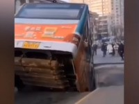 Six Killed in China as Sinkhole Swallows Bus and Pedestrians