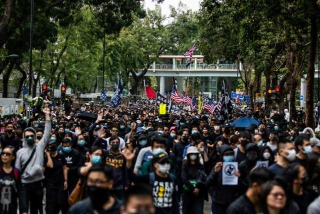 Dozens Held After Shopping Protest At Hong Kong Border