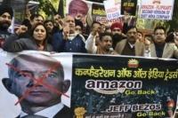 Tough love for Amazon's Bezos in India