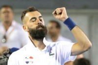Paire, Humbert set up all French final in Auckland