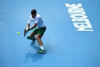 Djokovic's five-year-old son 'born with a backhand'