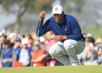 Tiger roars into contention for record 83rd US PGA win