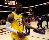 James makes history by passing Kobe Bryant as Sixers rout Lakers