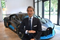 Bugatti touts green ambitions while storming full speed ahead