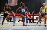 Kemp cruises past Powell to win 60m at Boston Grand Prix