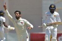 Raza takes career-best seven wickets as Zimbabwe grab control