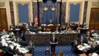 US Senate poised for crucial vote on witnesses at Trump trial