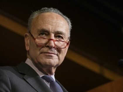 """Senate Democratic Minority Leader Chuck Schumer says that President Donald Trump's expected acquittal in his impeachment trial will be """"meaningless"""" because crucial witnesses and documents were never subpoenaed"""
