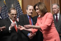 Jay Sekulow Slams Nancy Pelosi's 'Celebratory' Impeachment Pen Handout