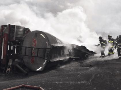 Good Samaritan Pulls Trucker from Burning Wreckage Three Days After Giving Birth