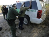 Border Patrol agents stop two men thought to have entered the country illegally, near McAllen, Texas, along the U.S.-Mexico border. In the Rio Grande Valley, the southernmost point of Texas and historically the busiest section for border crossings, the U.S. Border Patrol is apprehending around 300 people daily, down from …