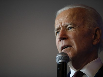Democratic presidential candidate former Vice President Joe Biden speaks at the Nevada Black Legislative Caucus Black History Awards brunch Sunday, Feb. 16, 2020, in Las Vegas. (AP Photo/John Locher)
