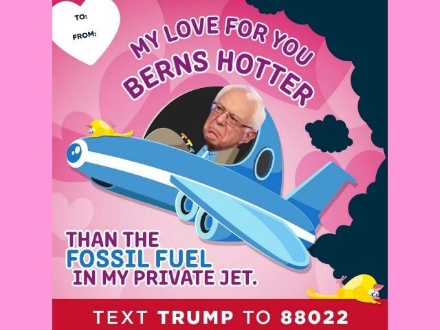 Bernie Sanders Valentine