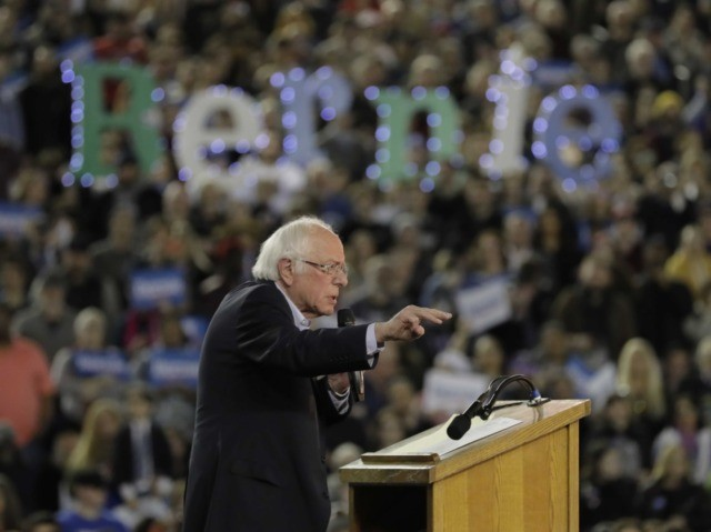 Bernie Sanders rally Washington (Ted S. Warren / Associated Press)