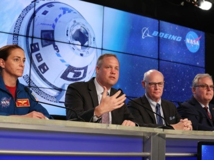 Boeing NASA press conference