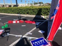 GOP Voter Registration Tent Attacked