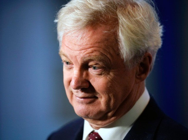 BIRMINGHAM, ENGLAND - OCTOBER 01: Former Brexit Secretary David Davis gives a media interview on day two of the annual Conservative Party Conference on October 1, 2018 in Birmingham, England. This year it is being held against a backdrop of party division on Brexit. The Prime Minister is pushing ahead …