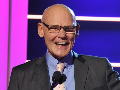 BEVERLY HILLS, CA - DECEMBER 11: James Carville speaks onstage during the Sports Illustrated 2018 Sportsperson of the Year Awards Show on Tuesday, December 11, 2018 at The Beverly Hilton in Los Angeles. Tune in to NBCSN on Thursday, December 13, 2018 at 9pmET to watch the one hour Sports …
