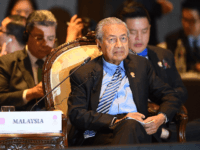 Malaysia's Prime Minister Mahathir Mohamad attends the 14th East Asia Summit in Bangkok on November 4, 2019, on the sidelines of the 35th Association of Southeast Asian Nations (ASEAN) Summit. (Photo by Manan VATSYAYANA / AFP) (Photo by MANAN VATSYAYANA/AFP via Getty Images)