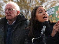 AOC, Bernie Sanders Shaken by Lack of Climate Change Questions