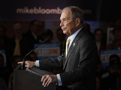 Audio: Mike Bloomberg Tells Aspen Elites 'All the Crime' Is in Minority Areas; 'Throw Them Against the Wall and Frisk Them'