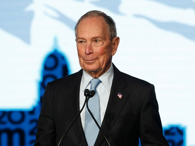 SALT LAKE CITY, UT - FEBRUARY 20: Democratic presidential candidate, former New York City mayor Mike Bloomberg talks to supporters at a rally on February 20, 2020 in Salt Lake City, Utah. Bloomberg is making his second visit to Utah before it votes on super Tuesday March 3rd.(Photo by George …
