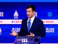 Fact Check: Pete Buttigieg Falsely Claims Americans Are Buying Weapons of War
