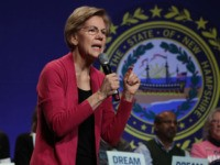 KEENE, NEW HAMPSHIRE - FEBRUARY 04: Democratic presidential candidate Sen. Elizabeth Warren (D-MA) speaks during a campaign event at The Colonial Theatre February 04, 2020 in Keene, New Hampshire. Warren is campaigning in New Hampshire after technical errors prevented the Iowa Democratic party from quickly announcing a winner in their …