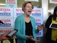 Elizabeth Warren Proposes 'Blue New Deal' Because Green New Deal Doesn